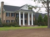 Early Classical Revival styled home