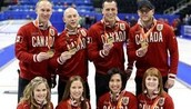 Here are  curling athletes that competed in the winter Olypics