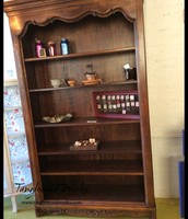 6-Shelf, Tall, Solid Wood Photo Shelf/Bookcase - $375