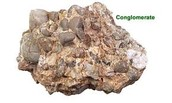 This is conglomerate rock