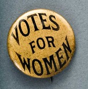 Woman suffrage Pin