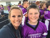 Hayden and Mrs. Pratt
