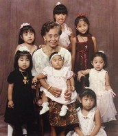 The Seven of Us + Lola Angie