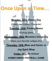 Homecoming Week - Spirit Days ALL Week