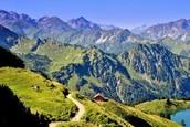 Mountainous Path