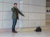 How to deal with unattended baggage in the baggage hall.