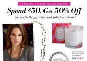 SHOP ONLINE EARLY!!!  December Trunk Show Exclusives!