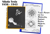 Tesla's patent for the alternating current