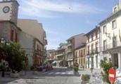 Main street of Cercedilla