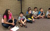 Ms. Aguirre and her PM Kindergarten Class