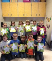 Look at all these attendance awards!