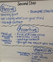 2nd Step Lesson on Being Assertive