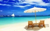 Vista Frente a La Playa