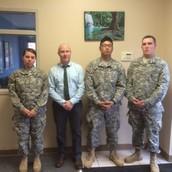 PLHS & Bridges Grads now Soldiers!