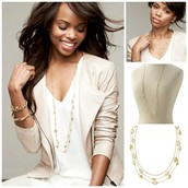 The HALEY necklace $50 (Retail: $79)