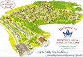 Hunters Quay Holiday village map