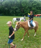 Pony rides are always a hit