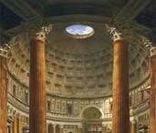 מבנה הפנתיאון מבפנים