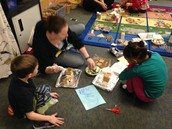 Multi-age Kindergarten and First Grade Optional Build Gingerbread Houses