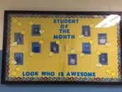 Students of the Month!!