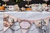 Vintage Tea Parties