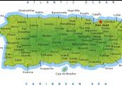 La mapa de Puerto Rico