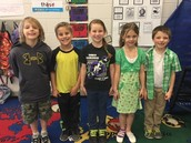 Cute little Leprechaun's from Mrs. Shaffer's class