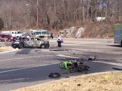 CAR CRASH IN KINGSPORT TN.