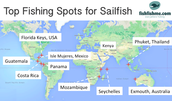 Top Fishing Spots for Sailfish