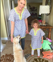 Look Adorable with our Mommy & Me Beach Tunics