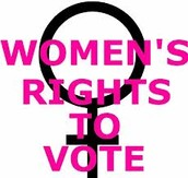 The 19th amendment gave women the right to vote.
