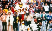 Super Bowl 18, The Washington Redskins vs The Oakland Raiders