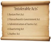 The Intolerable Acts