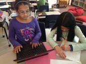 Juhi and Miya write to their friends!