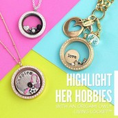 We are Independent Jewelry Designers with Origami Owl