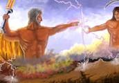Zeus and Cronus