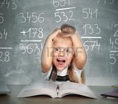 Math learning focus