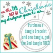 On the 7th day of Christmas my Designer gave to me