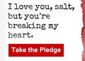 Take the Pledge to Reduce your Sodium Intake