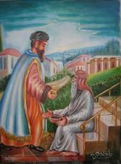 יוֹסֵי בֶּן יוֹחָנָן אִישׁ יְרוּשָׁלַיִם אוֹמֵר, יְהִי בֵיתְךָ פָּתוּחַ לִרְוָחָה, וְיִהְיוּ עֲנִיִּים בְּנֵי בֵיתֶךָ.