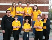 Monrovia Middle School's Scholar Bowl Team