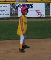 Me gustaba jugar el softbol.