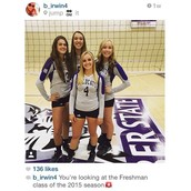 Client, Bailey, on her first day with Weber State.