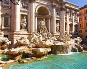 The Trevi's Fontain