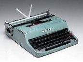 This Is An Olivetti manual typewriter
