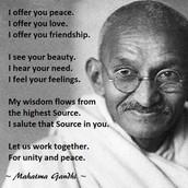 Gandhi's Protest