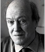 Roald Dahl in his writing prime