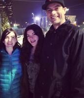 My Dad, Olivia, and I