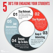 5 Do's for Engaging your Students