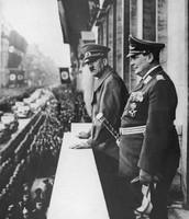 Adolf Hotler and General Hermann Goering